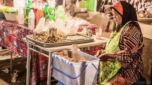Рынок на улице Ао Нанг в Краби