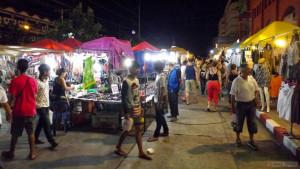 Ночной рынок Тепразит в Паттайе