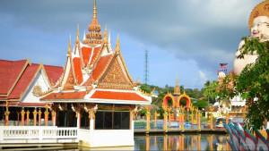Храм Ват  Плай Лем (Wat Plai Laem)